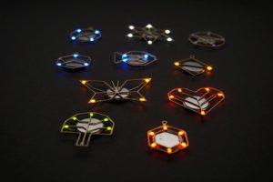 Svítící šperky